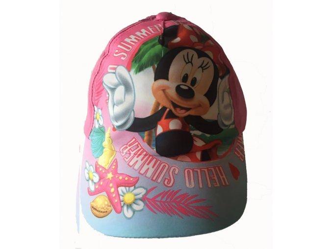 kšilt Minnie růžová