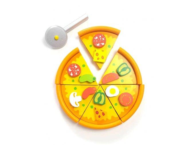 Motorická hra - pizza