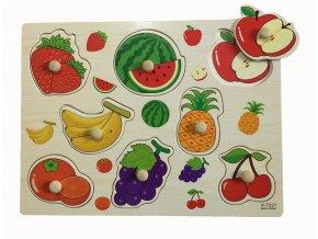 Dřevěná vkládačka ovoce