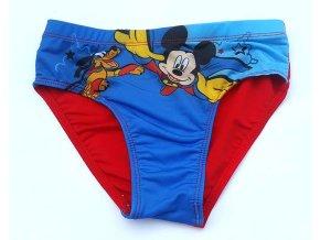 Mickey a pluto modro červené