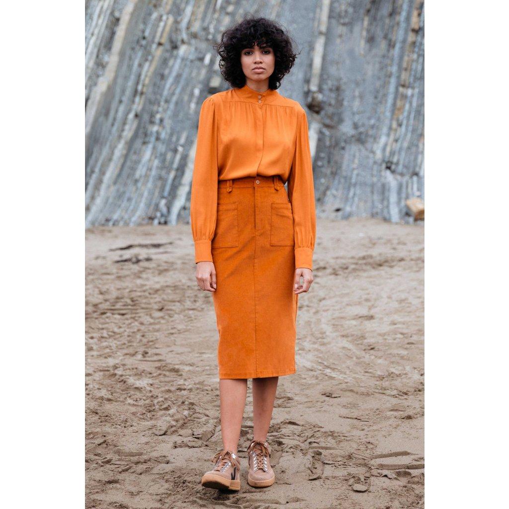 skirt organic cotton aldai skfk wsk00423 n8 f2b