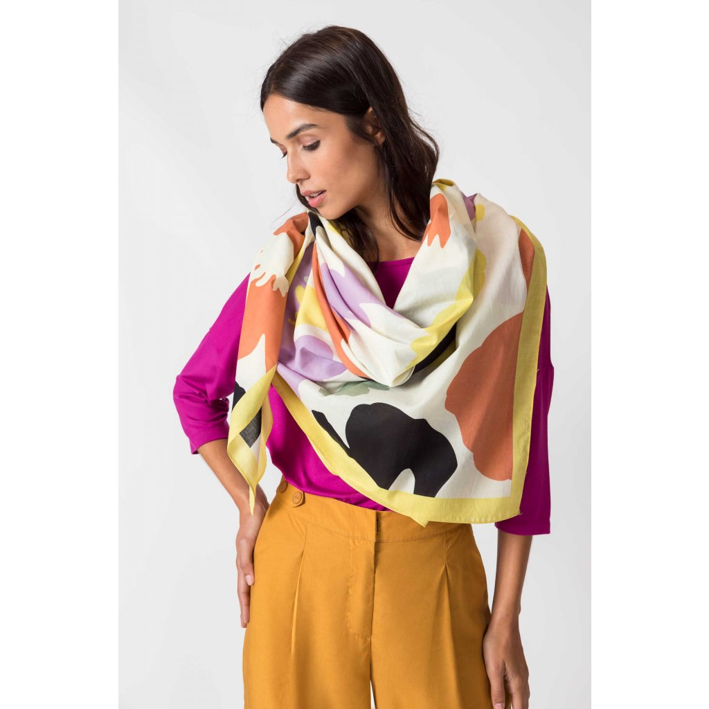 scarf organic cotton izaera skfk wsc00304 ml f2b