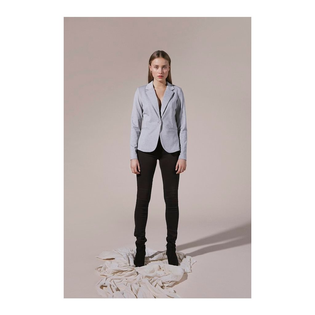 grey melange kateih blazer