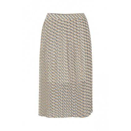 bright white skirt