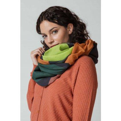 scarf organic cotton zerain skfk wsc00311 bz f2b