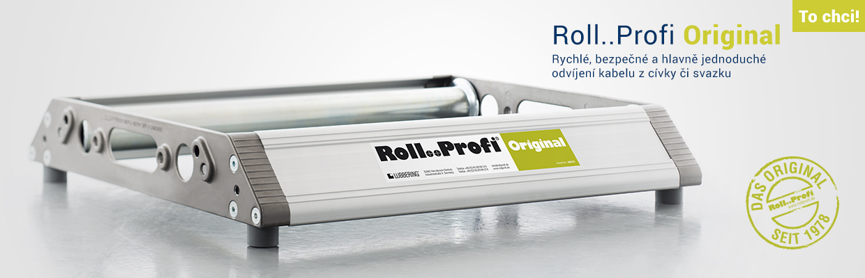 Roll..Profi Original pro rychlé a bezpečné odvíjení kabelu z cívky či svazku