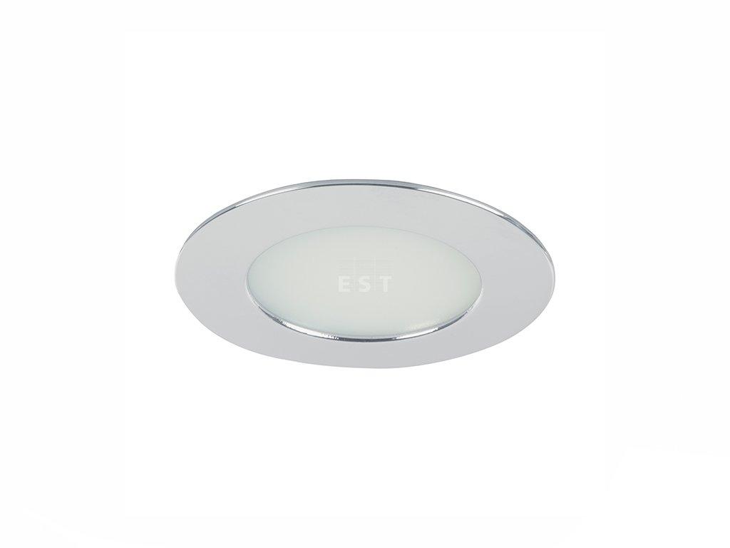 Kulaté LED svítidlo pro nízkou vestavbu, nikl matný, 5 W, 375 lm (12127153)