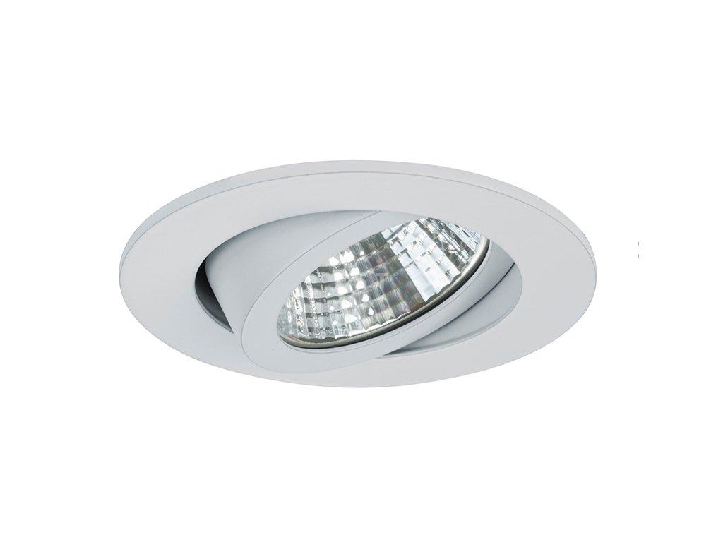 Kulaté vestavné LED svítidlo se zvýšeným stupněm krytí, bílé, 6 W, 650 lm (12353073)