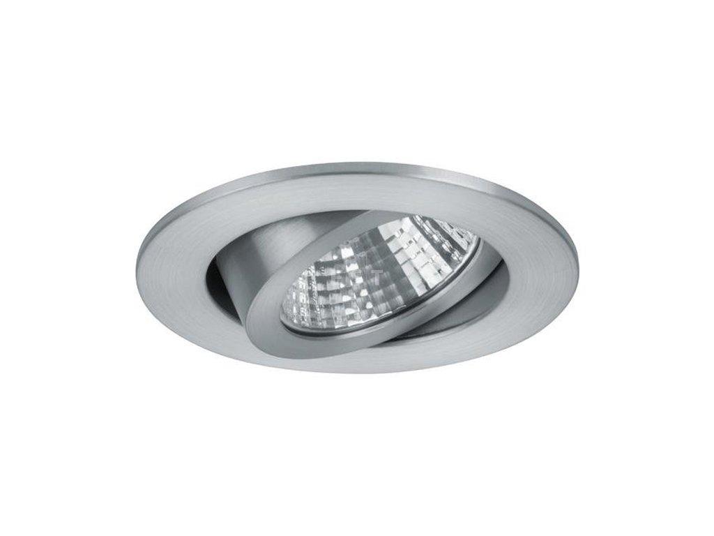 Kulaté LED svítidlo pro nízkou vestavbu, matný hliník, 7 W, 740 lm (12361253)