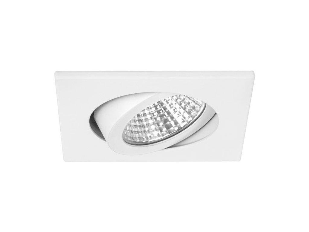 Čtvercové LED svítidlo pro nízkou vestavbu, bílé, 7 W, 740 lm (12362073)