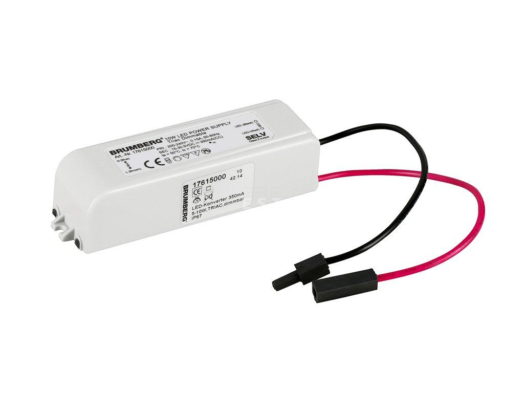 Napájecí zdroj pro LED svítidla, stmívatelný, 4,2-8 W, 350 mA (17615000)