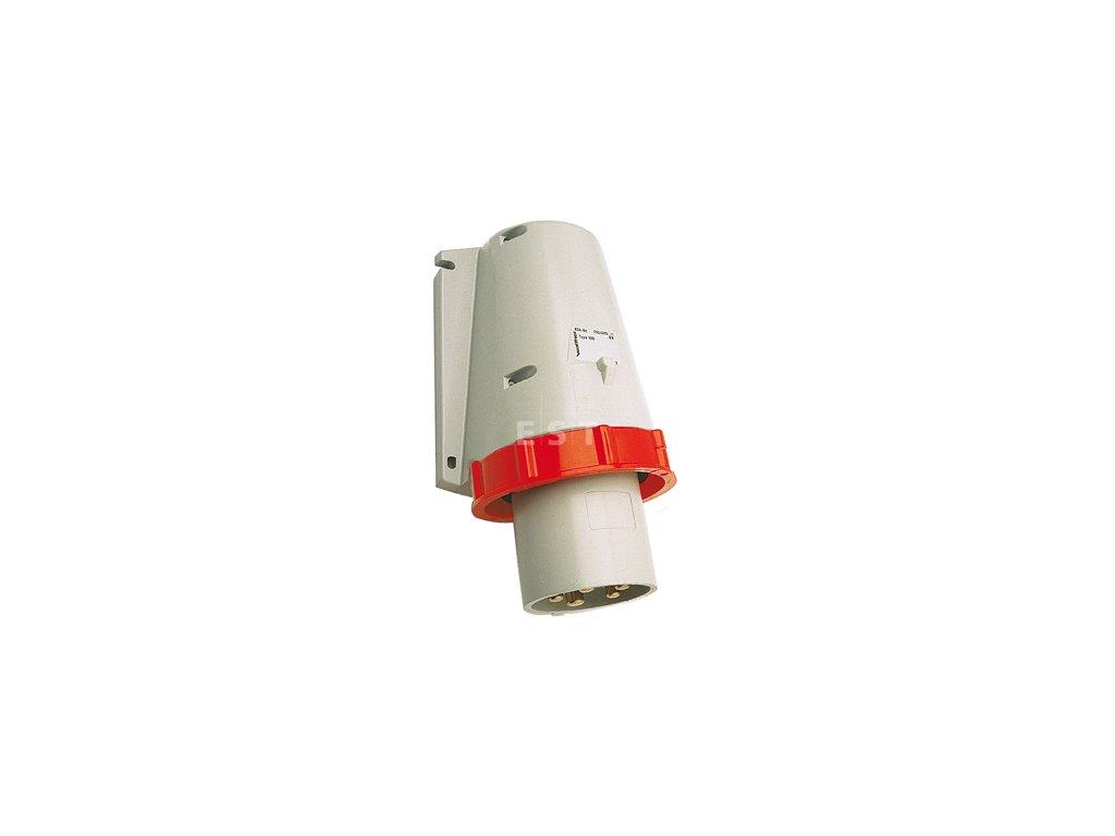 Nástěnná přívodka 63 A, 5P, 400 V, 6h, IP 67 (668)