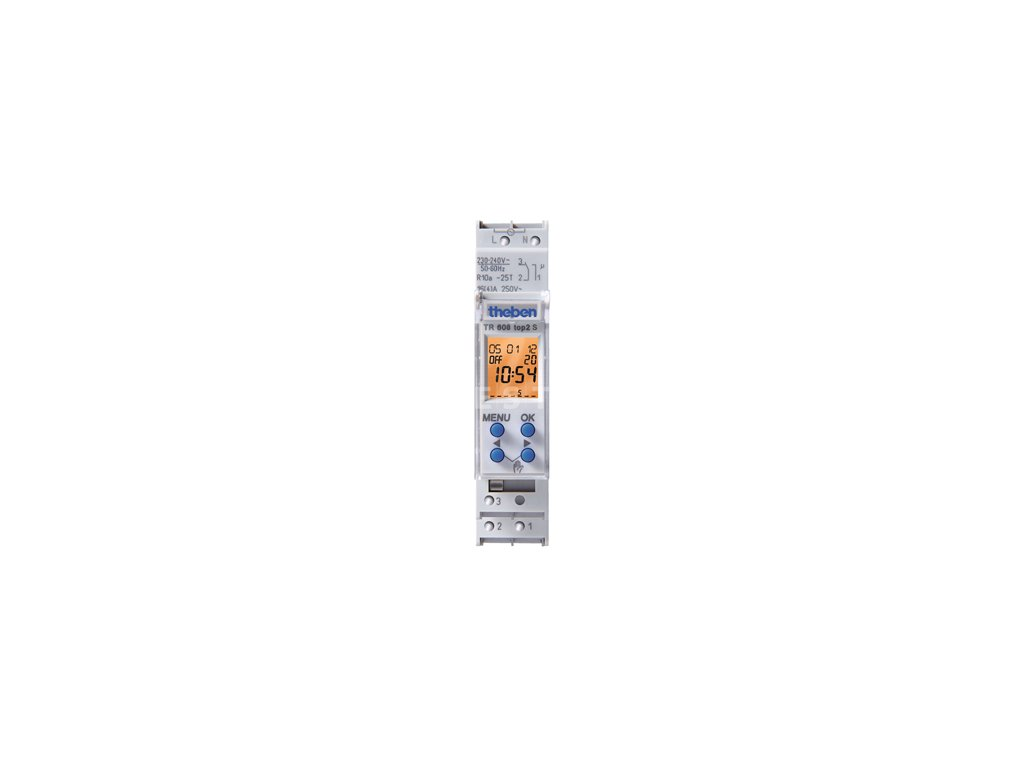 Digitální spínací hodiny Theben TR 608 top2 S (6080101)