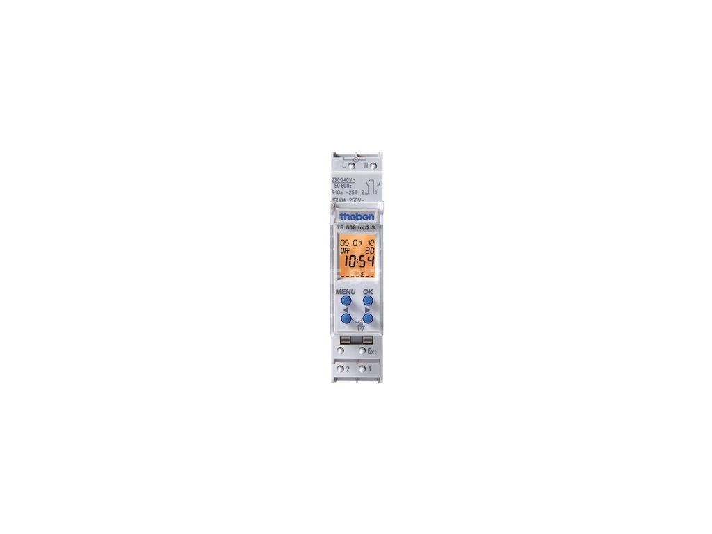 Digitální spínací hodiny Theben TR 609 top2 S (6090101)