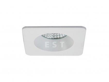 Čtvercové vestavné LED svítidlo se zvýšeným stupněm krytí, bílé, 6 W, 410 lm (12267073)