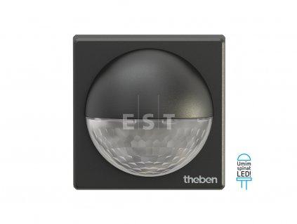 Čidlo pohybu Theben theLuxa R180 BK, 180°, černé (1010201)
