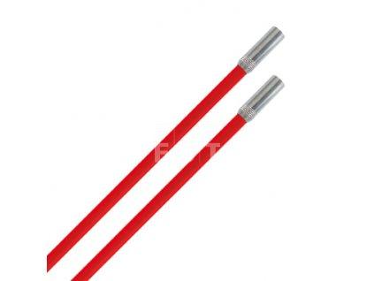 Protahovací prut tvrdý, červený, 2x1 m (10045)