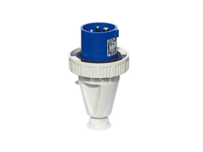 Vidlice 32 A, 4P, 400 V, 6h, IP 67 (239406)