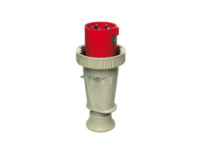 Vidlice 125 A, 4P, 400 V, 6h, IP 67 (279406)