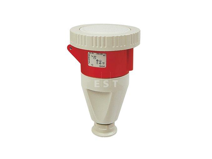 Pohyblivá zásuvka - spojka, 16 A, 4P, 400 V, 6h, IP 67 (319406)