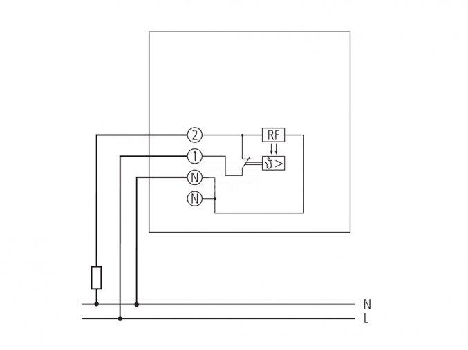 Mechanický pokojový termostat Theben RAM 701 (7010001)