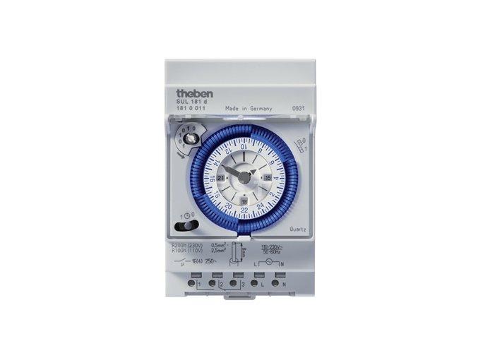 Analogové spínací hodiny Theben SUL 181 d (1810011)