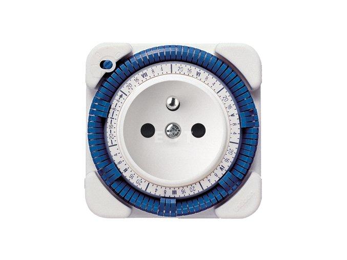 Analogové zásuvkové hodiny Theben-timer 27 CR (0270931)