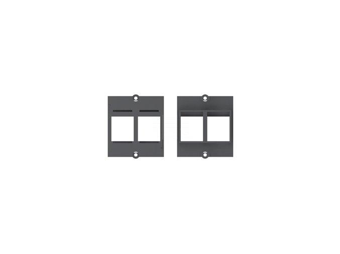 Rámeček pro dva moduly Keystone (917.000)