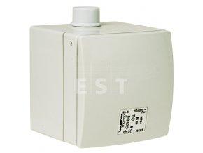 Nástěnná zásuvka na omítku MONDO, 16 A, 5P, 400 V, 6h, IP 44 (116)