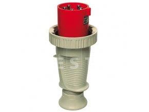 Vidlice 125 A, 5P, 400 V, 6h, IP 67 (279)