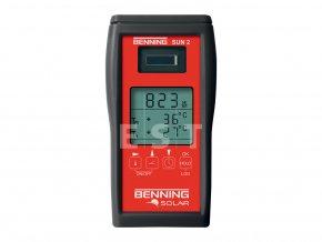 Měřicí přístroj solárního záření a teploty Benning SUN 2 (050420)