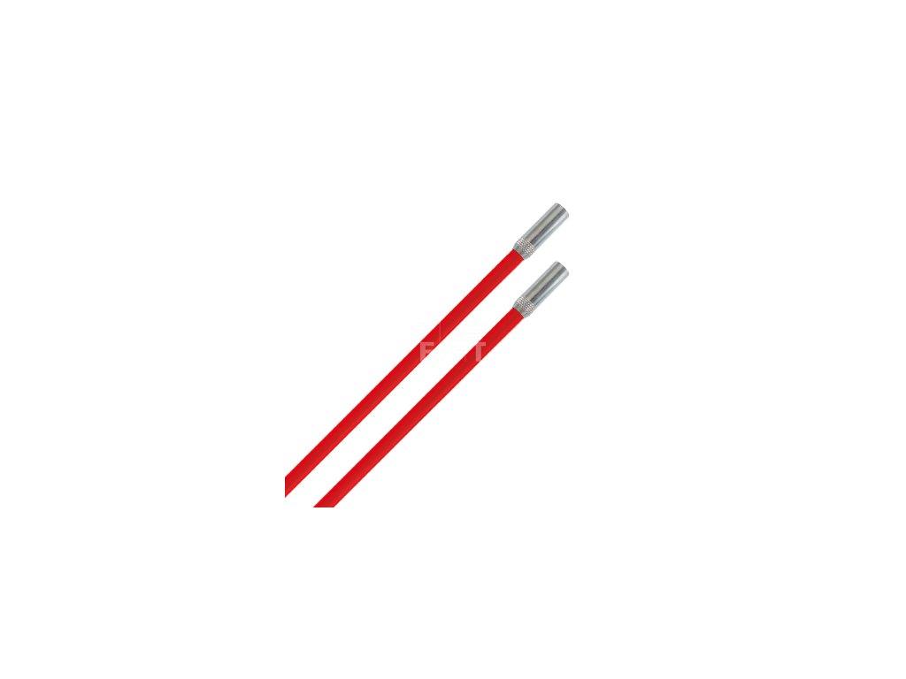 8896 protahovaci prut tvrdy cerveny 2x1 m 10045