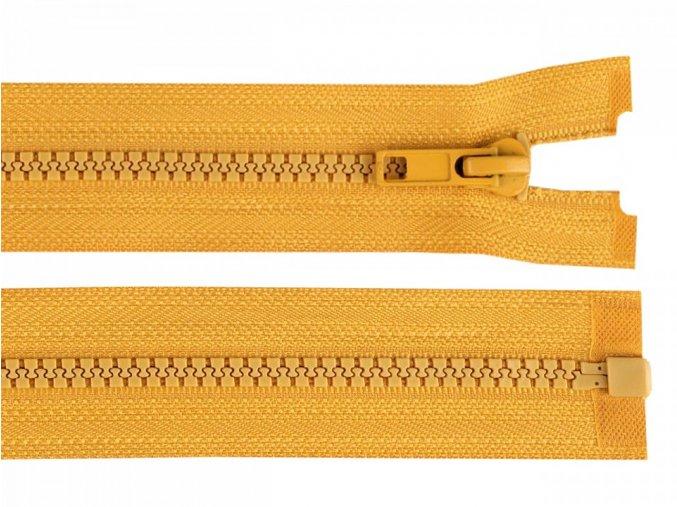 Kostěný zip šíře 5 mm délka 60 cm / více barev