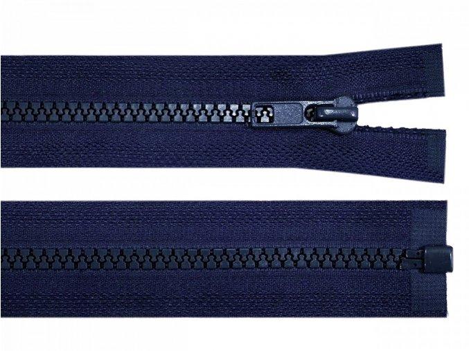 Kostěný zip šíře 5 mm délka 35 cm / více barev