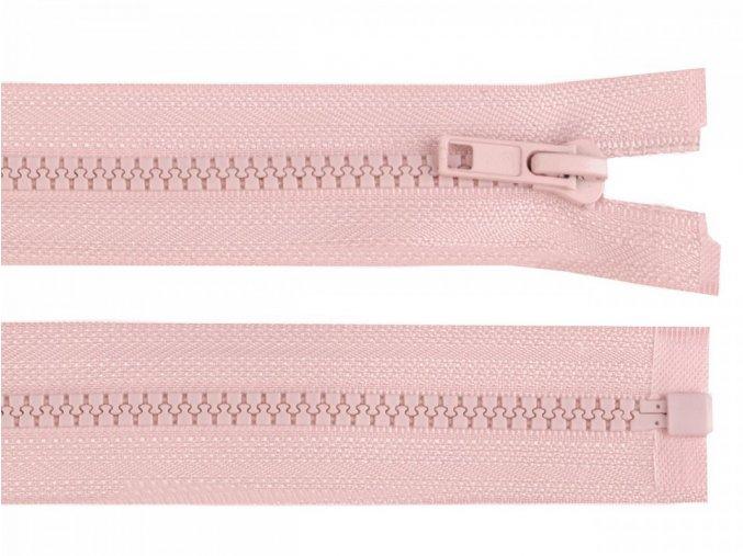 Kostěný zip šíře 5 mm délka 40 cm / více barev