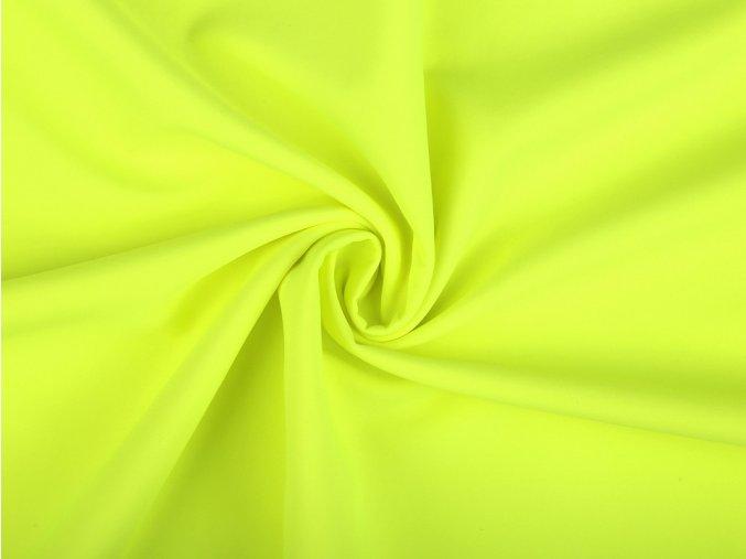 softshell neon žlutá