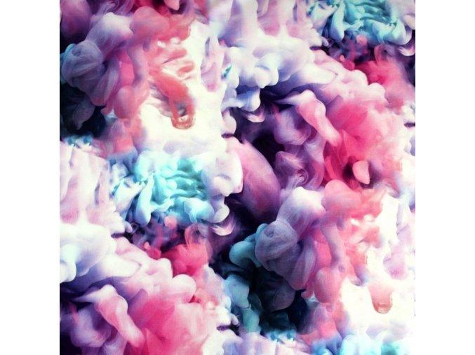 růžový kouř