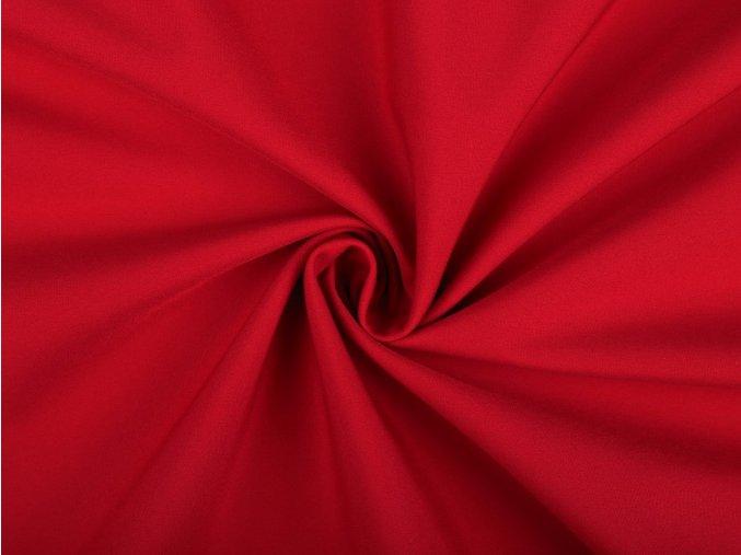 soft zimní červená