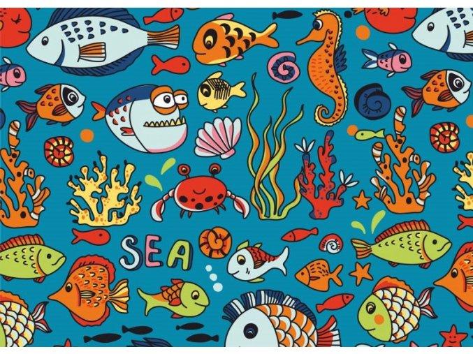 ryby malované