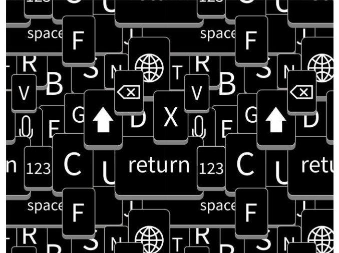klávesnice černá