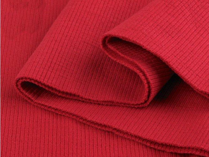 bavlněný náplet červený