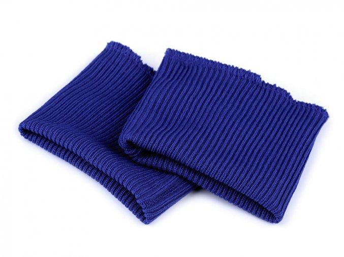 náplety na rukávy královská modrá