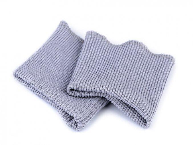 náplety na rukávy šedá sv.