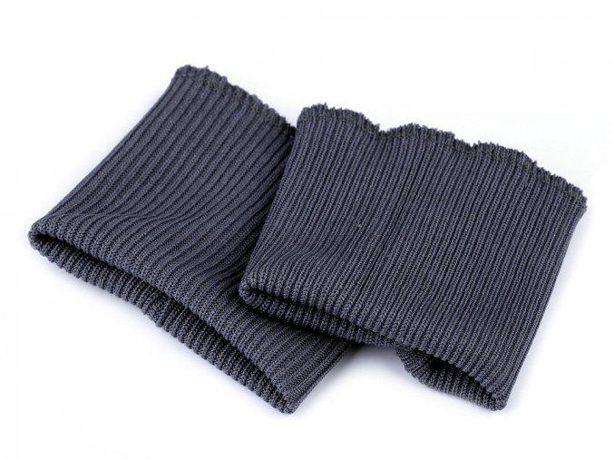 náplety na rukávy šedá tmavá