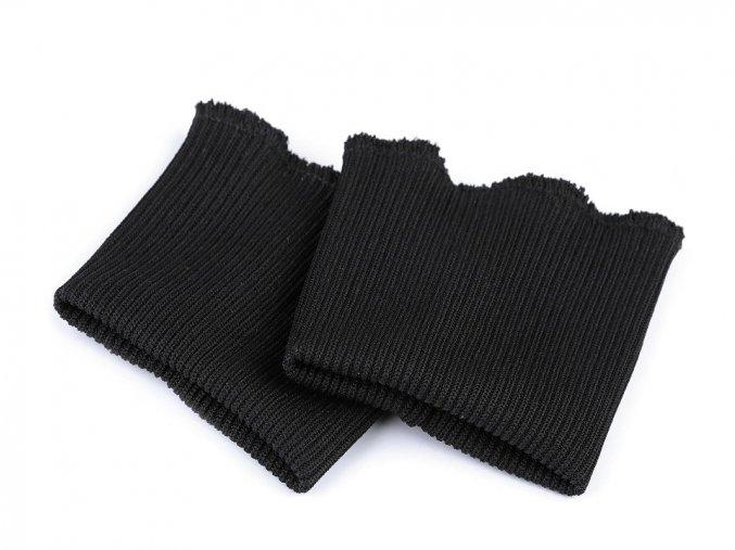 náplety na rukávy černá