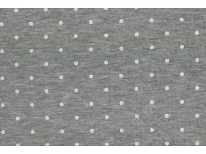 puntík šedá melír