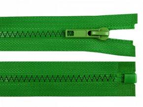 Kostěný zip šíře 5 mm délka 65 cm / více barev