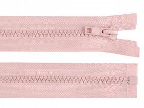 Kostěný zip šíře 5 mm délka 70 cm / více barev