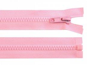 Kostěný zip šíře 5 mm délka 75 cm / více barev