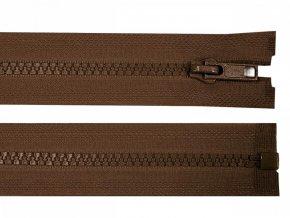 Kostěný zip šíře 5 mm délka 80 cm / více barev